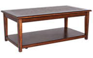 Jofran Baroque Brown Coffee Table