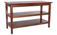 Jofran Baroque Brown Sofa Table