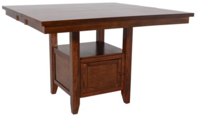 Jofran Taylor Brown Cherry Counter Table