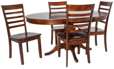 Jofran Taylor Cherry Table & 4 Chairs