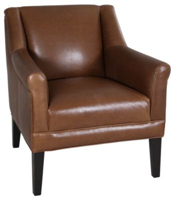 Jonathan Louis Margaret 100% Leather Accent Chair