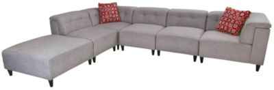 Jonathan Louis Lux 6-Piece Modular Sectional