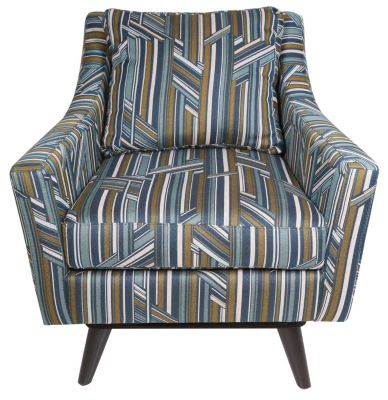 Jonathan Louis Strathmore Swivel Accent Chair