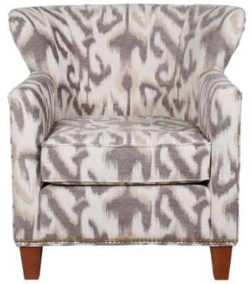 Justice Hamilton Wing Accent Chair