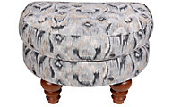 Justice Brook Half Moon Ottoman