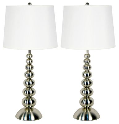 Kenroy Baubles Table Lamps (Set of 2)
