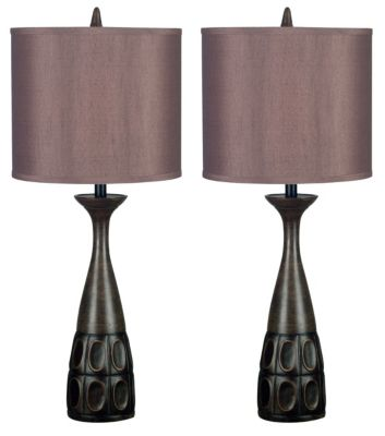 Kenroy Jules Table Lamps (Set of 2)