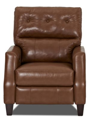 Klaussner Amesbury Leather High-Leg Power Recliner