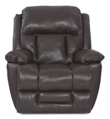 Klaussner Biscayne Espresso 100% Leather Power Recliner