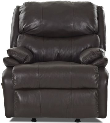 Klaussner Cooper Leather Rocker Recliner
