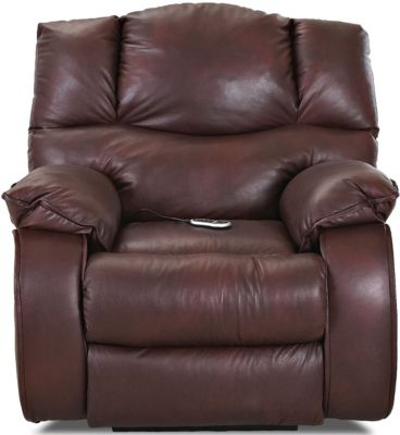 Klaussner Hillside Power Recliner with Heat and Massage