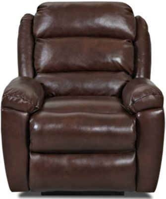 Klaussner Lanier Leather Power Recliner