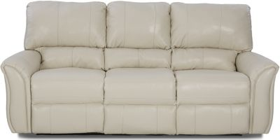 Klaussner Marcus Leather Power Reclining Sofa