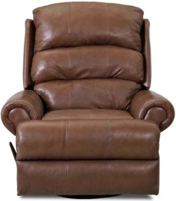 Klaussner Norman Leather Rocker Recliner