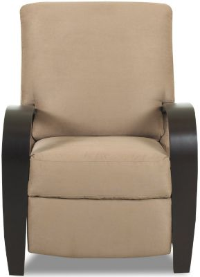 Klaussner Ralph Tan High-Leg Recliner