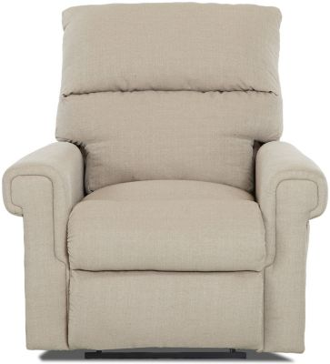 Klaussner Rivera Cream Power Recliner