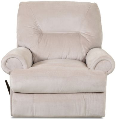 Klaussner Roadster Cream Rocker Recliner
