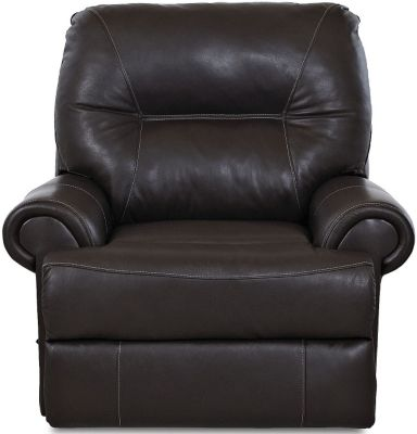 Klaussner Roadster Espresso Leather Power Recliner