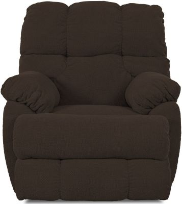 Klaussner Rugby Chocolate Lay-Flat Recliner