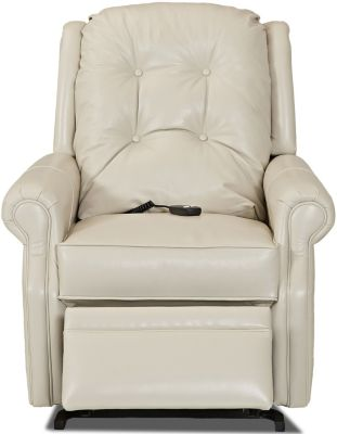 Klaussner Sand Key Leather 3-Way Lift Chair