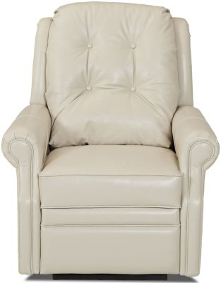 Klaussner Sand Key Leather Power Recliner