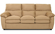Klaussner Sanders Tan Queen Sleeper Sofa
