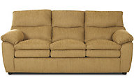 Klaussner Sanders Yellow Queen Sleeper Sofa