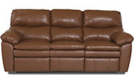 Klaussner Sanders Leather Reclining Sofa