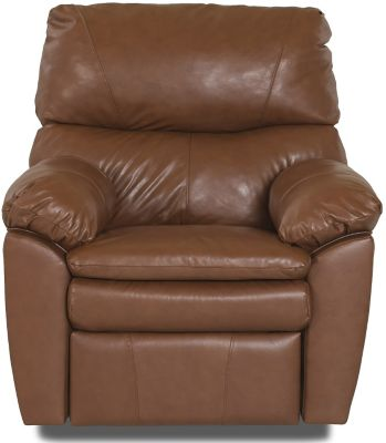 Klaussner Sanders Leather Recliner