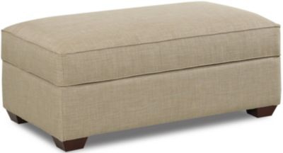 Klaussner Selection Storage Ottoman