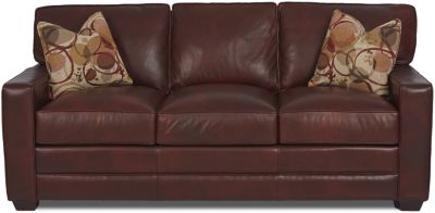 Klaussner Selection Leather Sofa