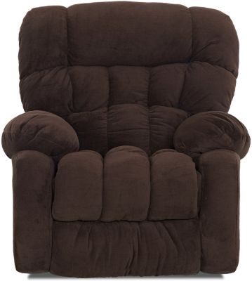 Klaussner Spokane Chocolate Rocker Recliner
