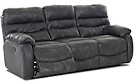 Klaussner Stillwater Leather Power Reclining Sofa