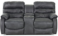 Klaussner Stillwater Leather Power Reclining Loveseat