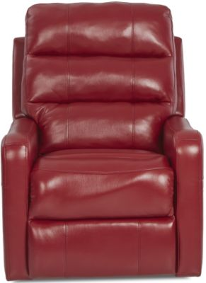 Klaussner Striker Cherry Power Recliner