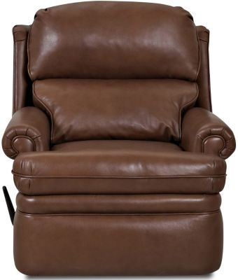 Klaussner Sylvan Leather Rocker Recliner