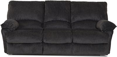 Klaussner Weatherstone Charcoal Reclining Sofa