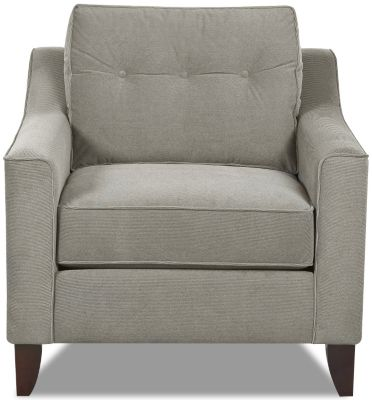 Klaussner Audrina Gray Chair