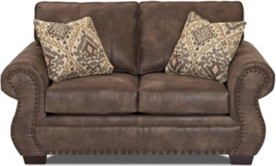 Klaussner Blackburn Chocolate Loveseat