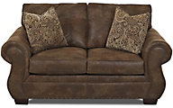 Klaussner Blackburn Espresso Loveseat