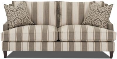 Klaussner Duchess Striped Sofa