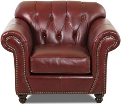 Klaussner Flynn Leather Chair