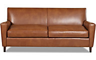 Klaussner Goldie 100% Leather Sofa