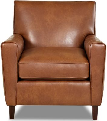 Klaussner Goldie 100% Leather Chair
