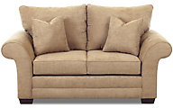 Klaussner Holly Cream Loveseat
