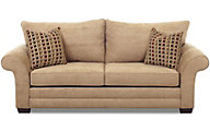 Klaussner Holly Latte Sofa