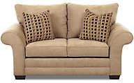 Klaussner Holly Latte Loveseat