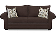 Klaussner Holly Chocolate Sofa