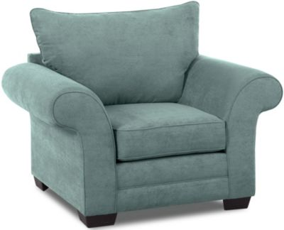 Klaussner Holly Teal Chair