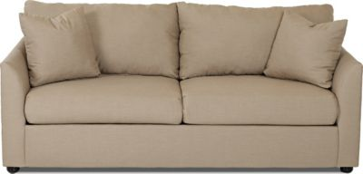 Klaussner Kalvin Tan Queen Sleeper Sofa